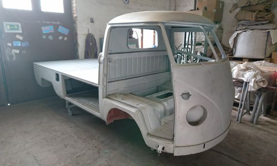 Oldimer VW-Transporter